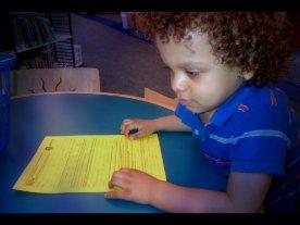 kiran gets a library card.1a