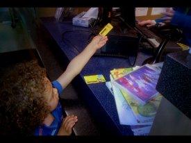 kiran gets a library card.2